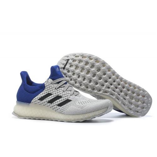 a3d0c553 Adidas Ultra Boost FutureCraft 3D White Blue мужские кроссовки ...
