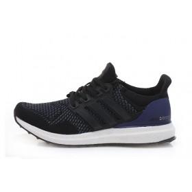 Adidas Ultra Boost Black White мужские кроссовки