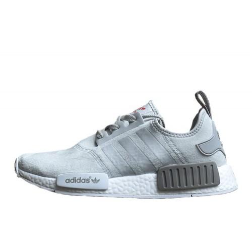 Adidas NMD Runner Suede Grey мужские кроссовки