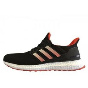 Adidas Ultra Boost Black Orange мужские кроссовки