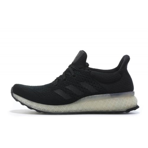Adidas Ultra Boost FutureCraft 3D Black мужские кроссовки