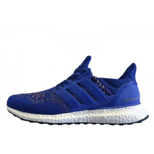 Adidas Ultra Boost Multicolor Blue мужские кроссовки