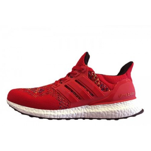 Adidas Ultra Boost Multicolor Red мужские кроссовки