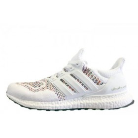 Adidas Ultra Boost Multicolor White мужские кроссовки