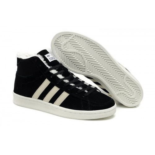 Adidas Winter Originals White Black мужские кроссовки