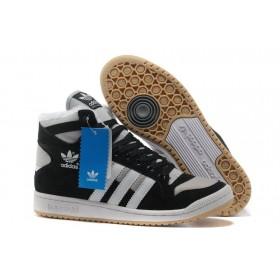 Adidas Winter Originals Gray Black мужские кроссовки