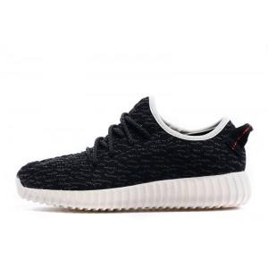 Adidas Yeezy Boost 350 Black White мужские кроссовки
