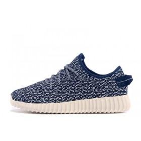 Adidas Yeezy Boost 350 Moon Blue мужские кроссовки
