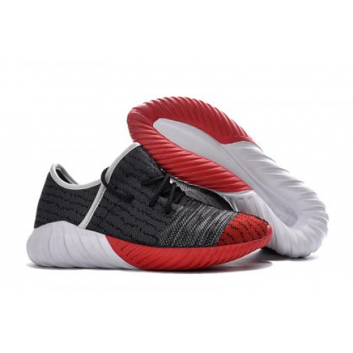 Adidas Yeezy Boost 550 Black Red мужские кроссовки