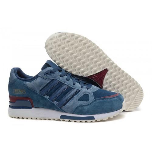Adidas ZX750 Half Blue мужские кроссовки