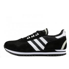 Adidas Originals ZX400 Black White мужские кроссовки