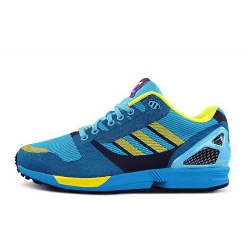 """Adidas Originals ZX 8000 Flux """"OG AQUA"""" мужские кроссовки"""
