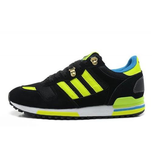 Adidas ZX700 Black Lime мужские кроссовки