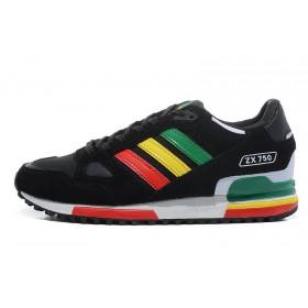 Adidas ZX750 Black мужские кроссовки