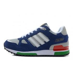 Adidas ZX750 Blue Gray White мужские кроссовки