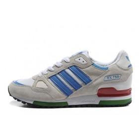 Adidas ZX750 Gray Blue мужские кроссовки