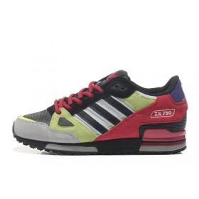 Adidas ZX750 Yellow Red мужские кроссовки