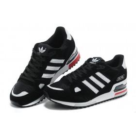Adidas ZX750 Black White мужские кроссовки