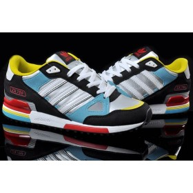 Adidas ZX750 Black Silver мужские кроссовки