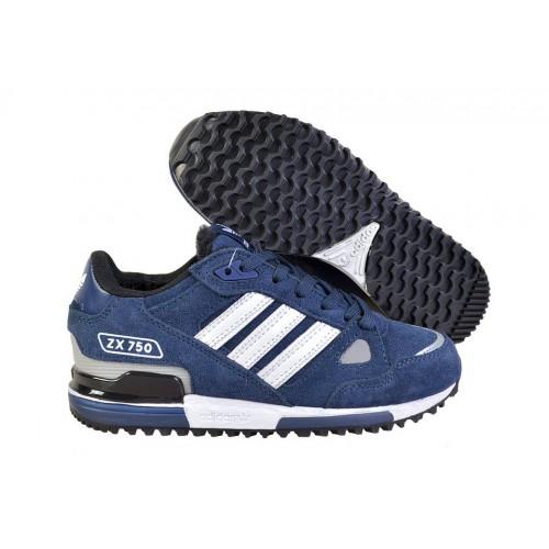 Adidas ZX750 Winter Blue мужские кроссовки