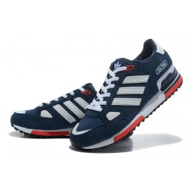 Adidas ZX750 Dark Blue Red мужские кроссовки