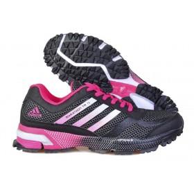 Adidas Marathon 10 Pink Grey женские кроссовки