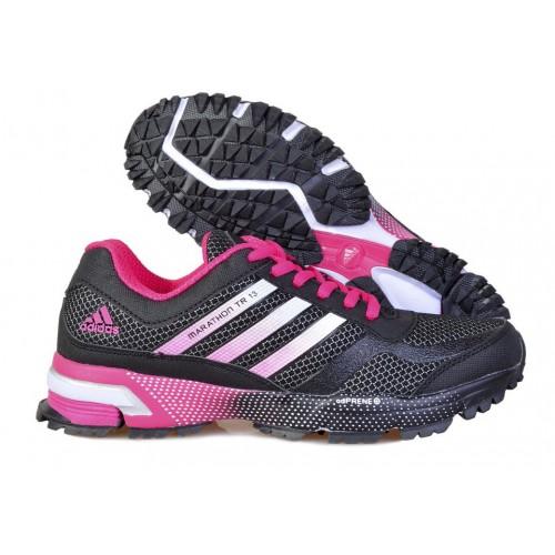 Кроссовки Adidas Marathon 10 Pink Grey женские