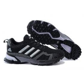 Adidas Marathon TR 15 Black Grey женские кроссовки