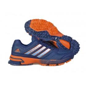 Adidas Marathon 10 Navy Orange женские кроссовки