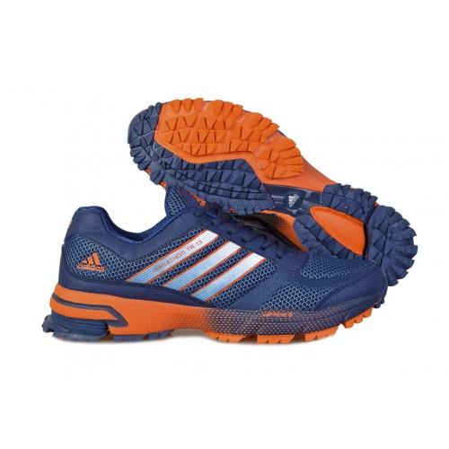 Кроссовки Adidas Marathon 10 Navy Orange женские