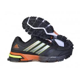 Adidas Marathon 10 Black Orange женские кроссовки