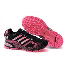 Adidas Marathon Navy Pink женские кроссовки