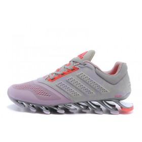 Adidas Springblade 2 Drive Grey Pink женские кроссовки