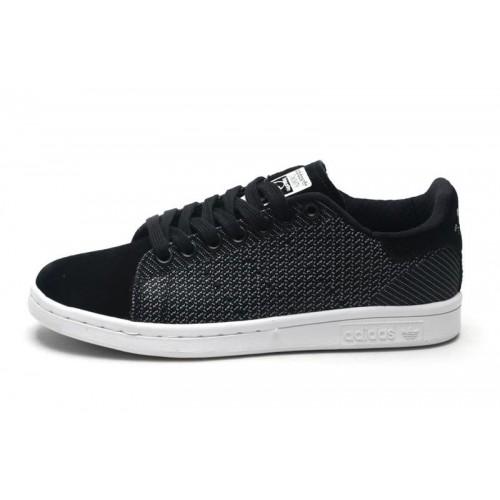 Adidas Stan Smith Original Black женские кроссовки