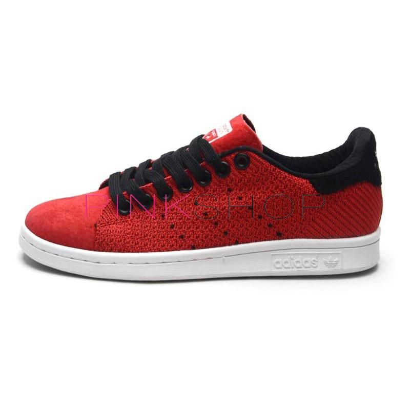 b0259915e0e4 Adidas Stan Smith Original Red купить женские кроссовки Адидас в ...