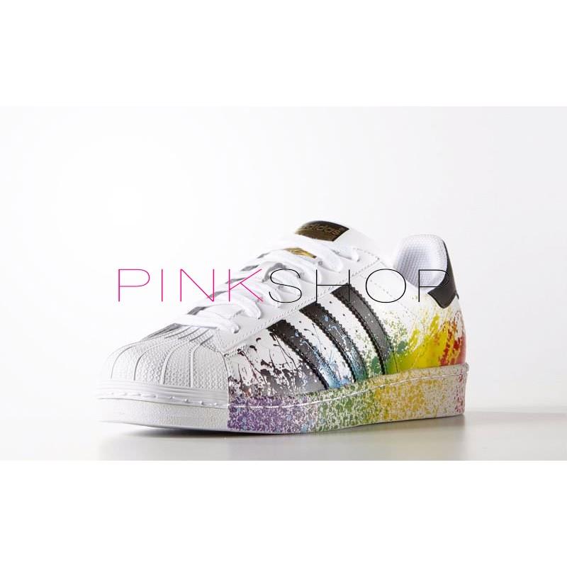 d690a46c7 Adidas Superstar Supercolor PW купить женские кроссовки Адидас ...