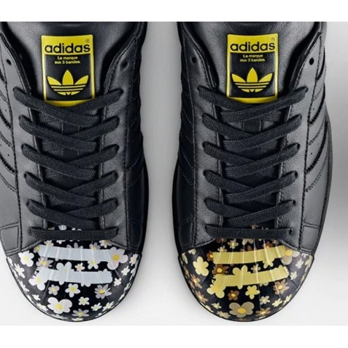 Adidas Superstar Pharrell Supershell Black женские кроссовки