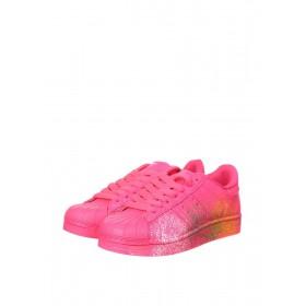 Adidas Superstar Supercolor PW Paint Art Pink женские кроссовки