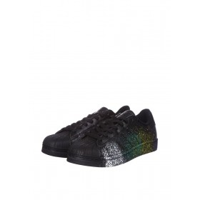 Adidas Superstar Supercolor PW Paint Art Black женские кроссовки