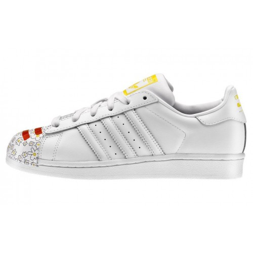 Adidas Superstar Pharrell Supershell White женские кроссовки