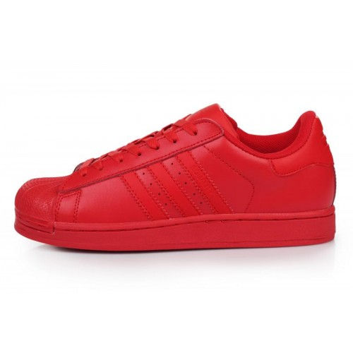 Adidas Superstar Supercolor PW Red женские кроссовки