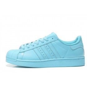 Adidas Superstar Supercolor PW Clear Sky женские кроссовки