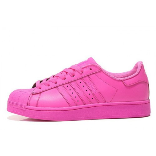 Adidas Superstar Supercolor PW Semi Solar Pink женские кроссовки