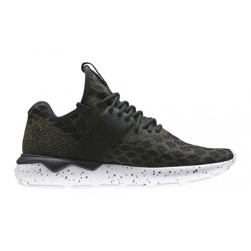 Adidas Tubular Runner Primeknit Olives женские кроссовки