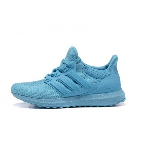 Adidas Ultra Boost All Light Blue женские кроссовки