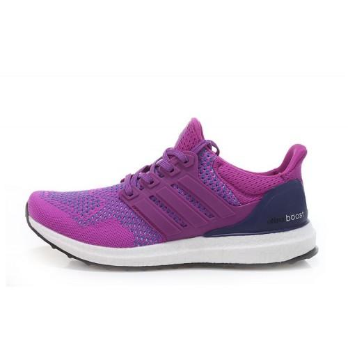 Adidas Ultra Boost Purple женские кроссовки