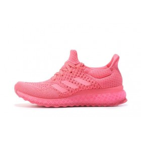 Adidas Ultra Boost FutureCraft 3D Pink женские кроссовки