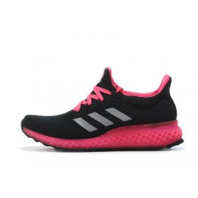 Adidas Ultra Boost FutureCraft 3D Black Pink женские кроссовки