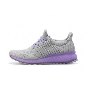 Adidas Ultra Boost FutureCraft 3D Black Purple женские кроссовки