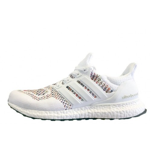 Adidas Ultra Boost Multicolor White женские кроссовки